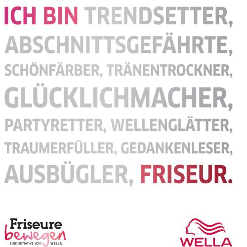 Ich bin Trendsetter, Abschnittsgefährte, Schönfärber ... Friseursalon Petra Jentzsch Dresden